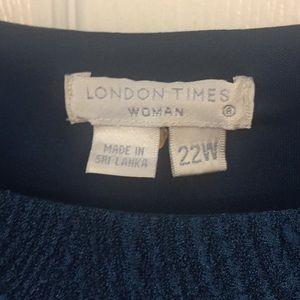 London Times Dresses - 22W London Times Dress